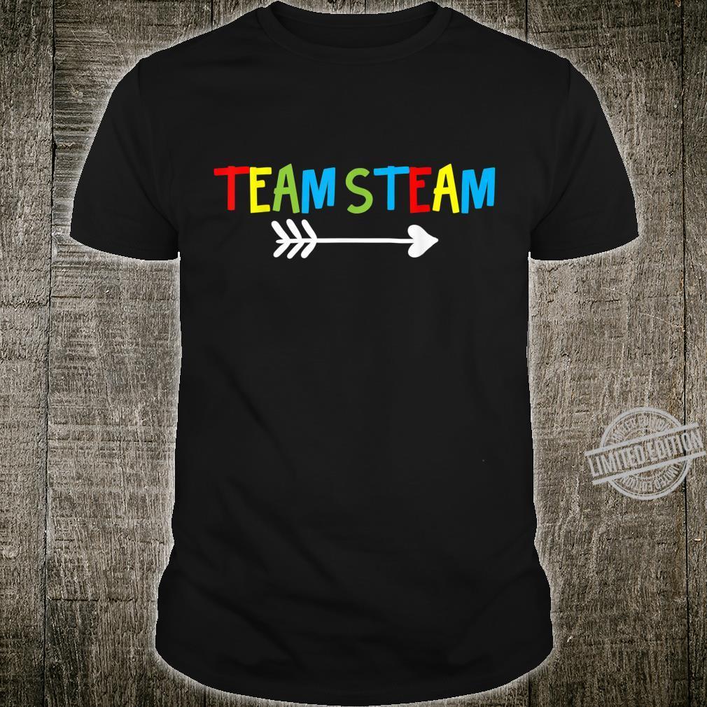 STEAM Teacher Science Tech Engineering Art Math Shirt