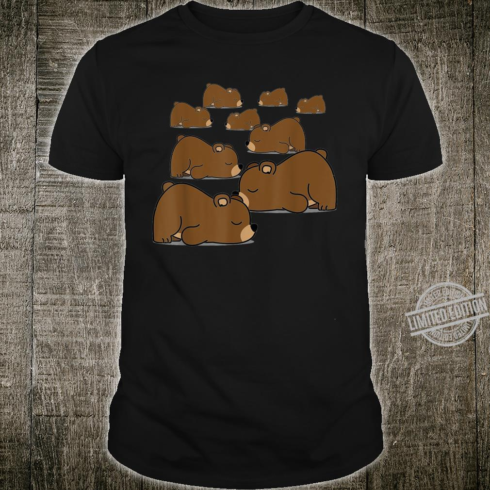 SUPER NIEDLICHER KLEINER BÄR MIT OFFIZIELLER Nickerchenzeit Shirt