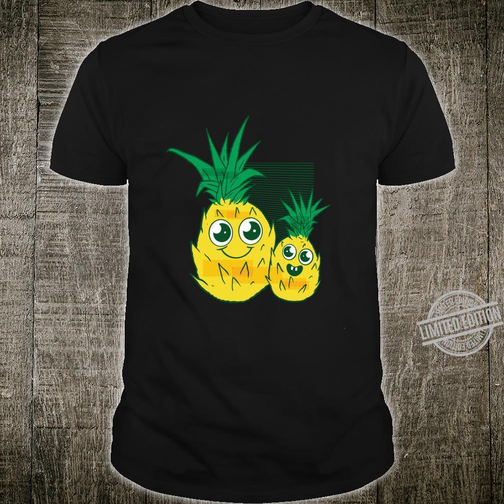 Süße Ananas für Mama und mich Langarmshirt Shirt