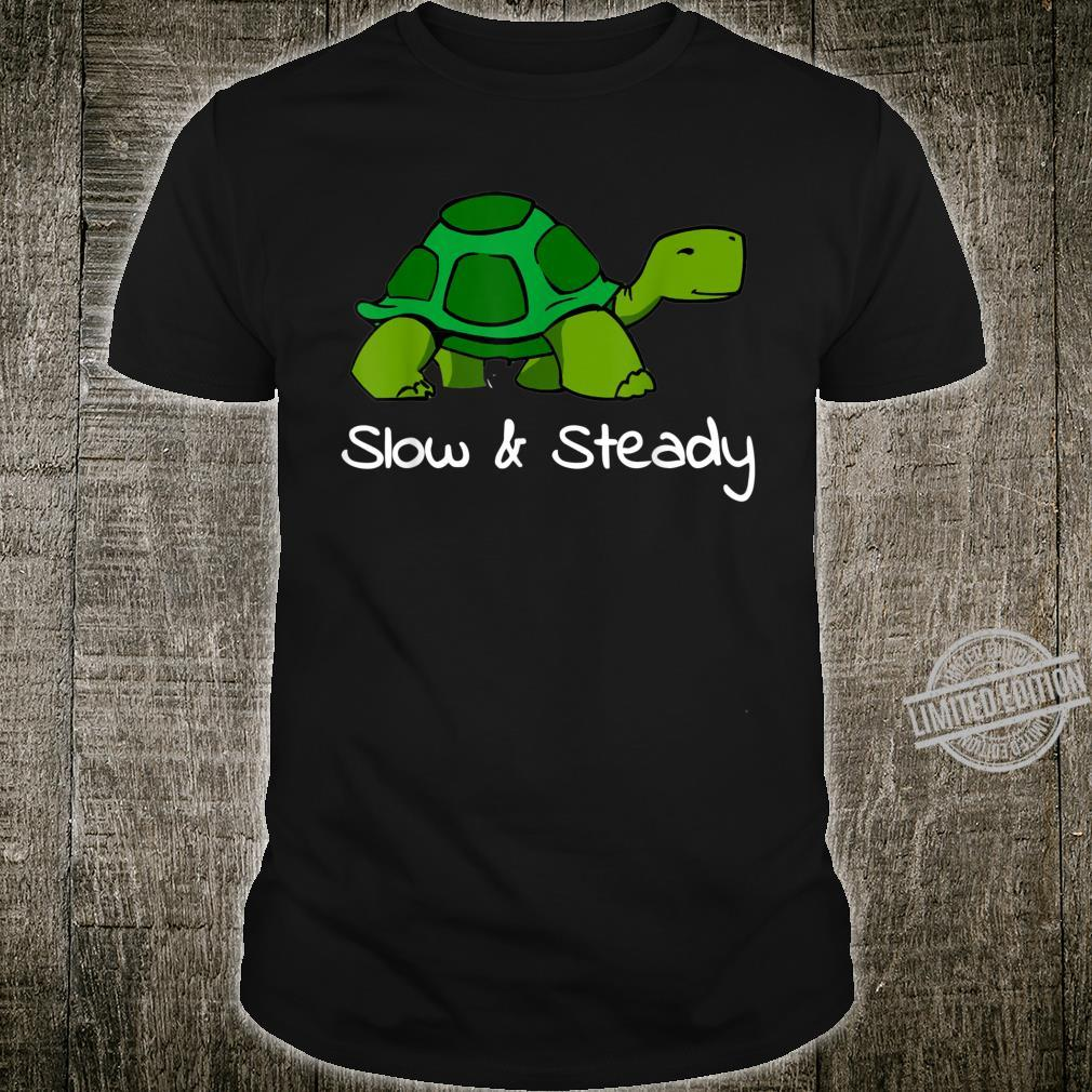 Slow and steady little turtle apparel Shirt