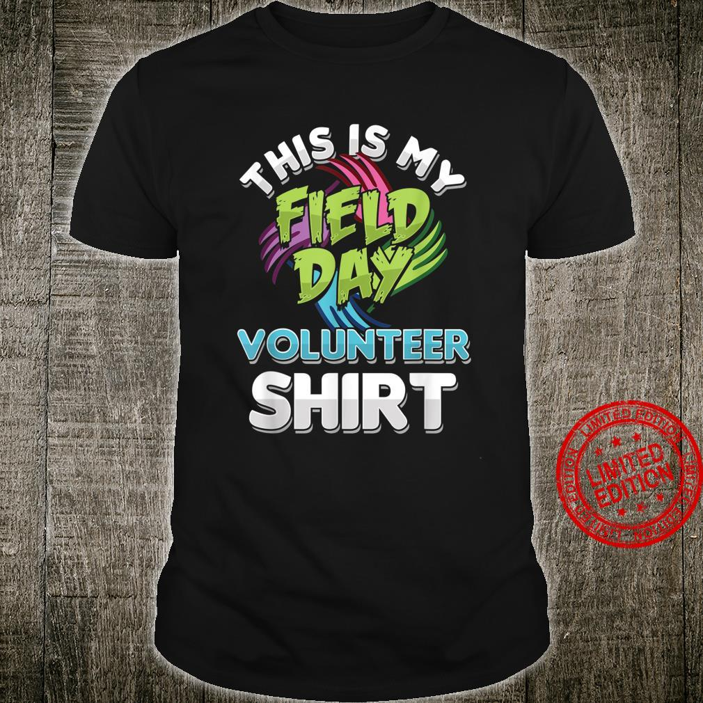 Social Service Worker This Is My Field Day Volunteer Shirt