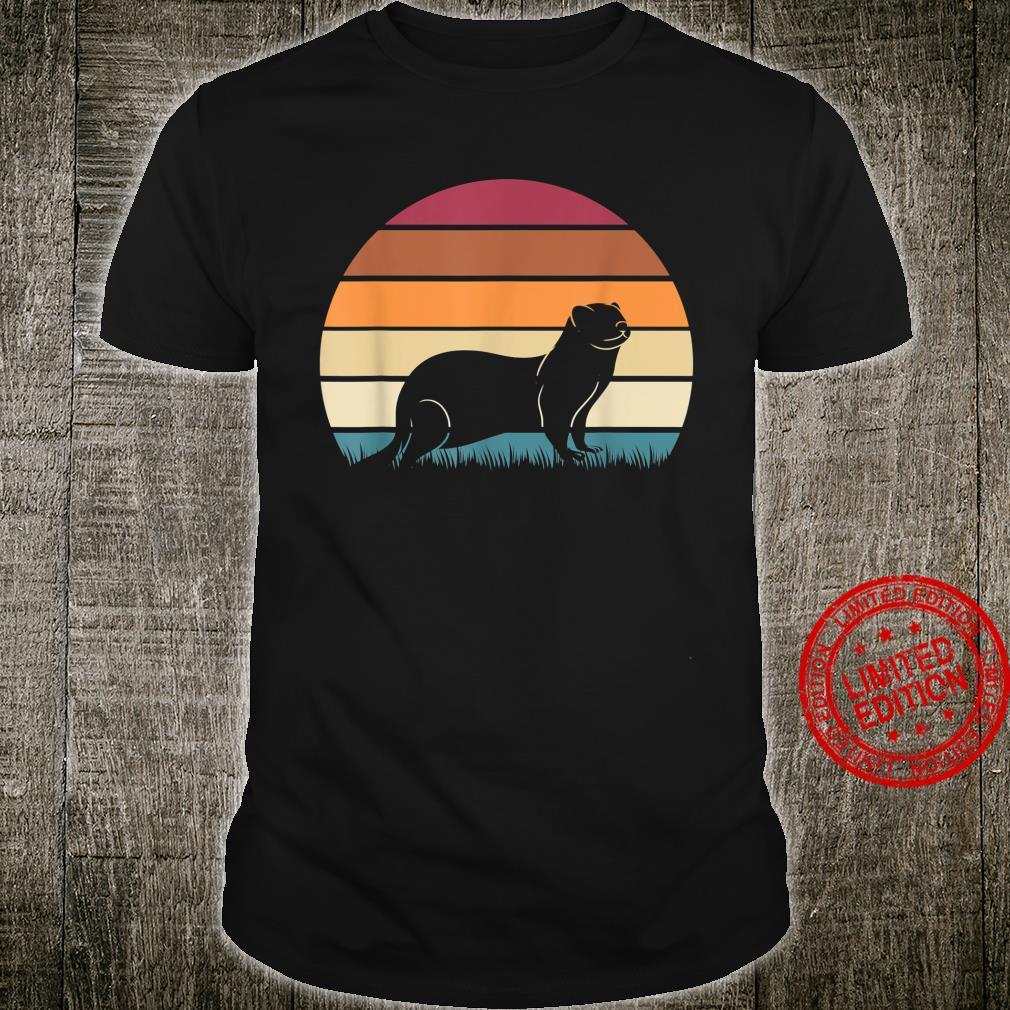 Sonnenuntergang Frettchen Shirt