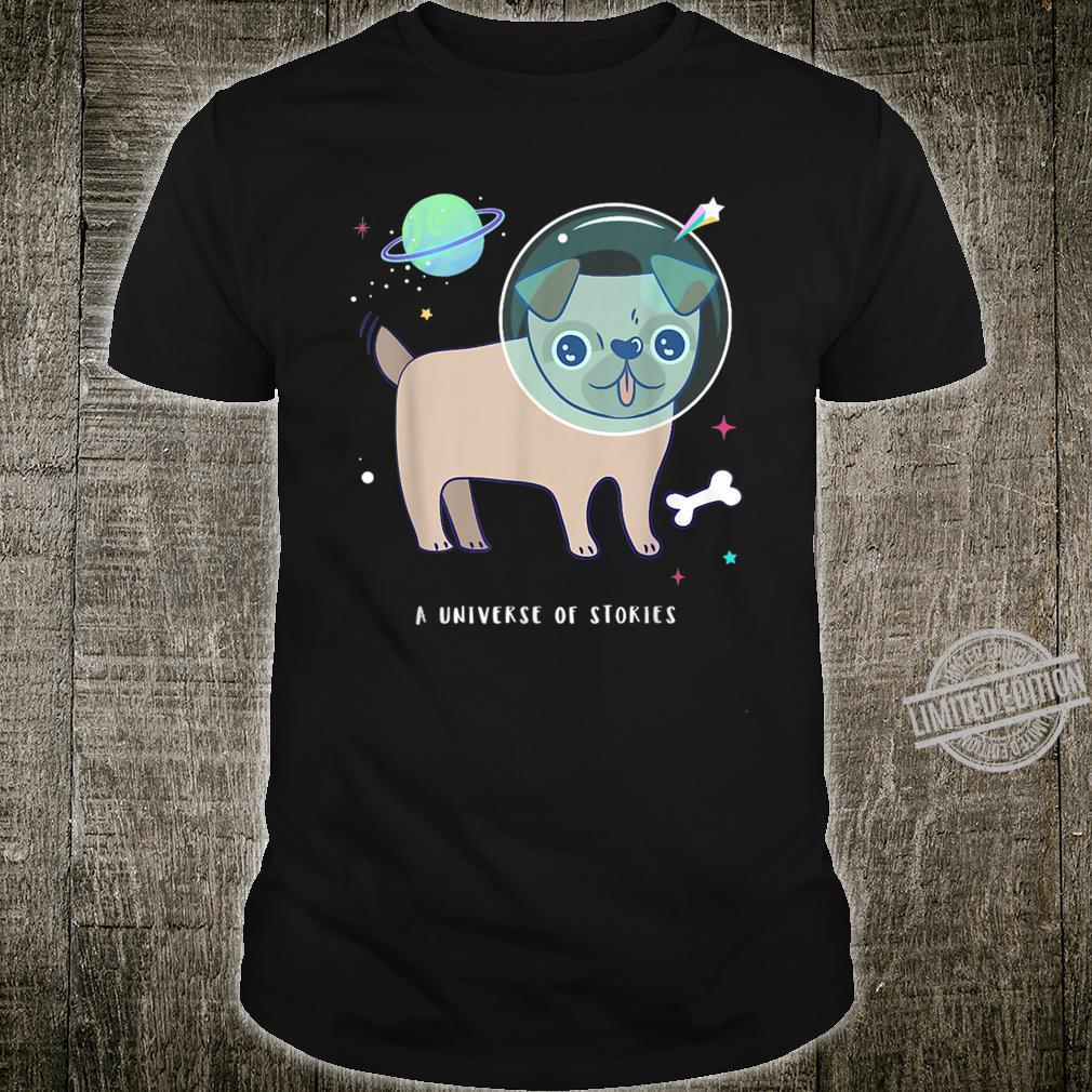 Space Pug Dog Astronaut Shirt