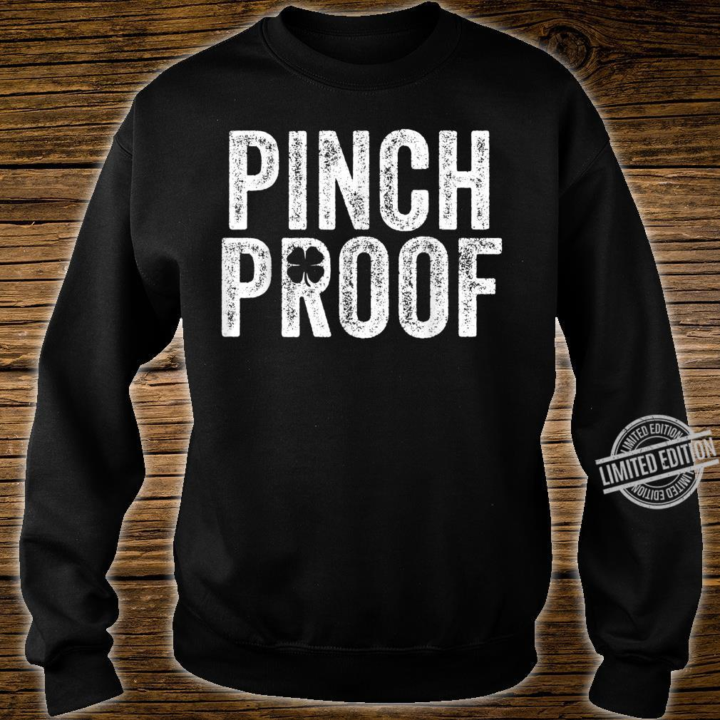 St Patrick's Day Pinch Proof Green Saint Paddy's Irish Shirt sweater