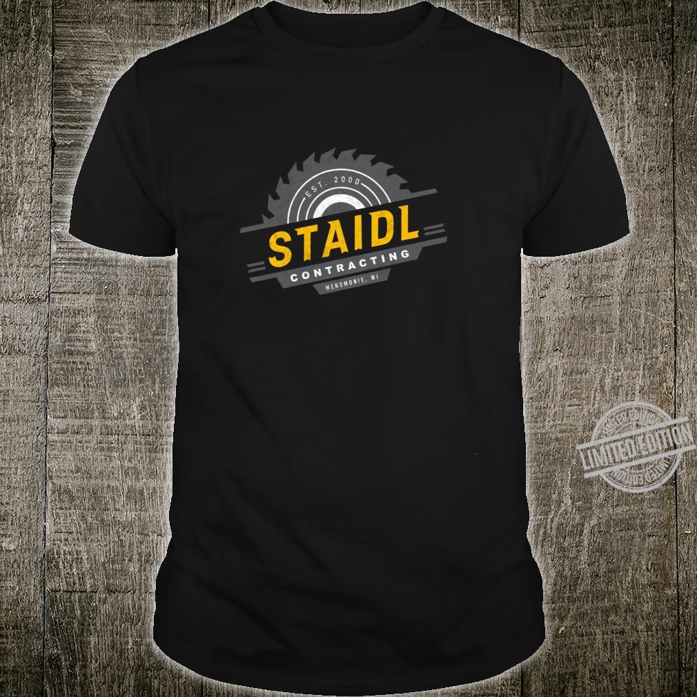 Staidl Contractingomonie WI Saw Blade Shirt