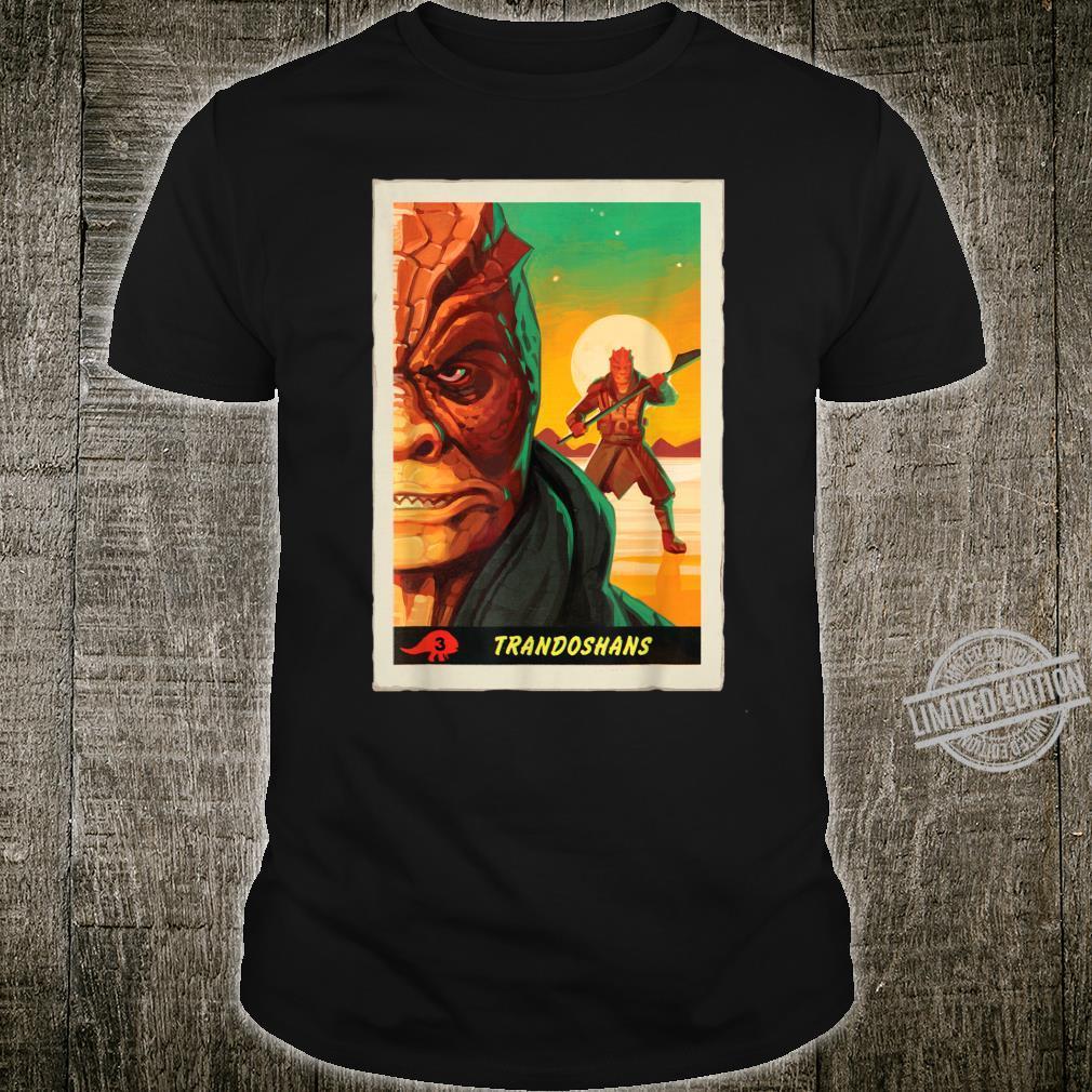 Star Wars The Mandalorian Trandoshans Trading Card Shirt