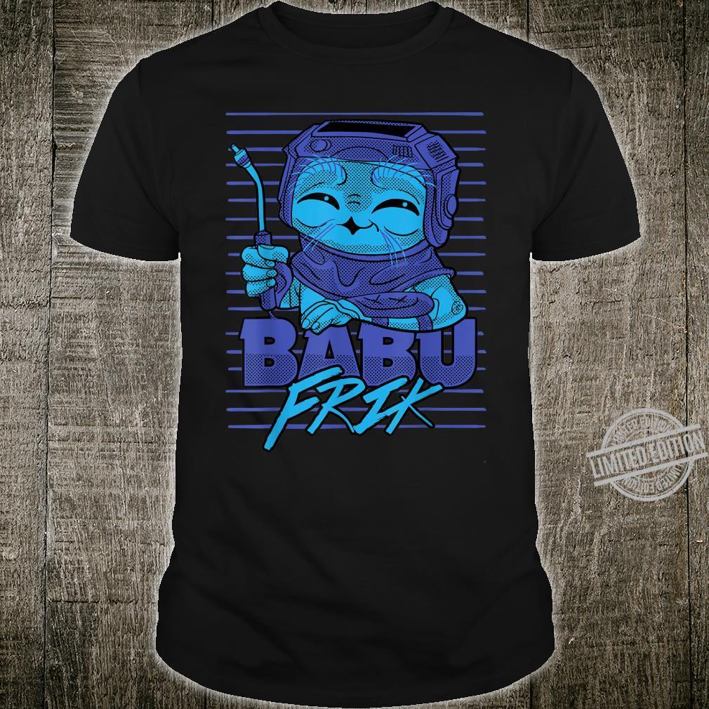 Star Wars The Rise Of Skywalker Babu Frik Cute Smile Shirt
