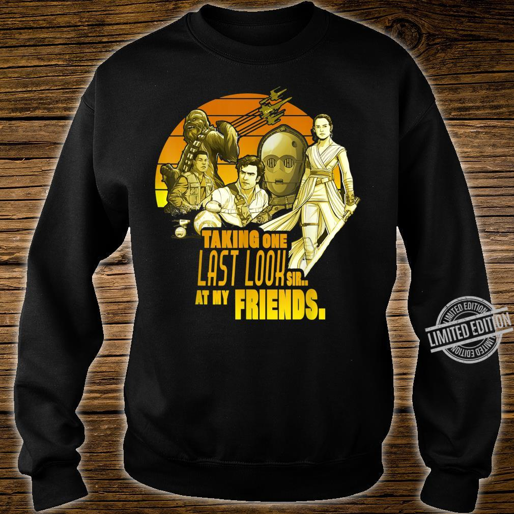 Star Wars The Rise Of Skywalker Group Shot One Last Look Shirt sweater