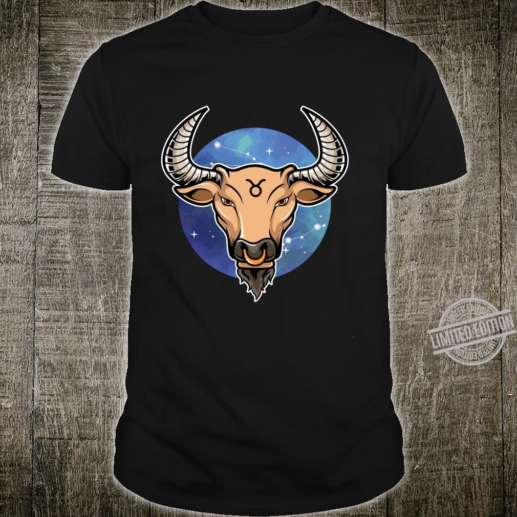 Sternzeichen Stier Langarmshirt Shirt