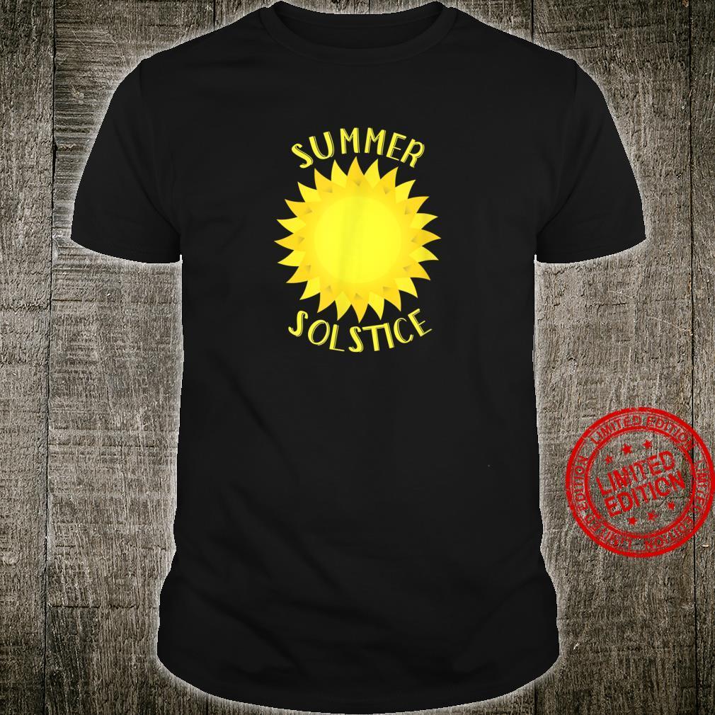 Summer Solstice Bright Sun Shirt