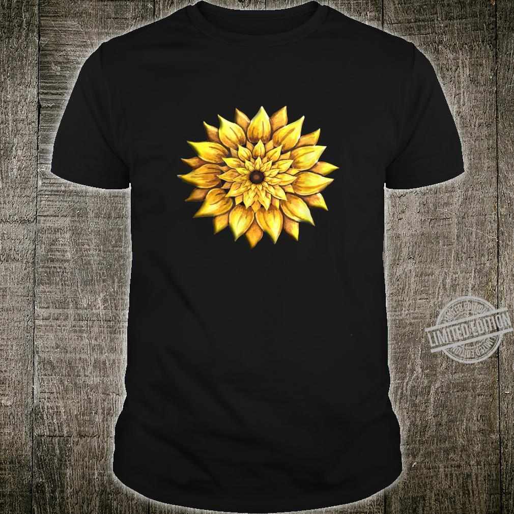 Sunflower Unconditional Love Happy Flower Shirt