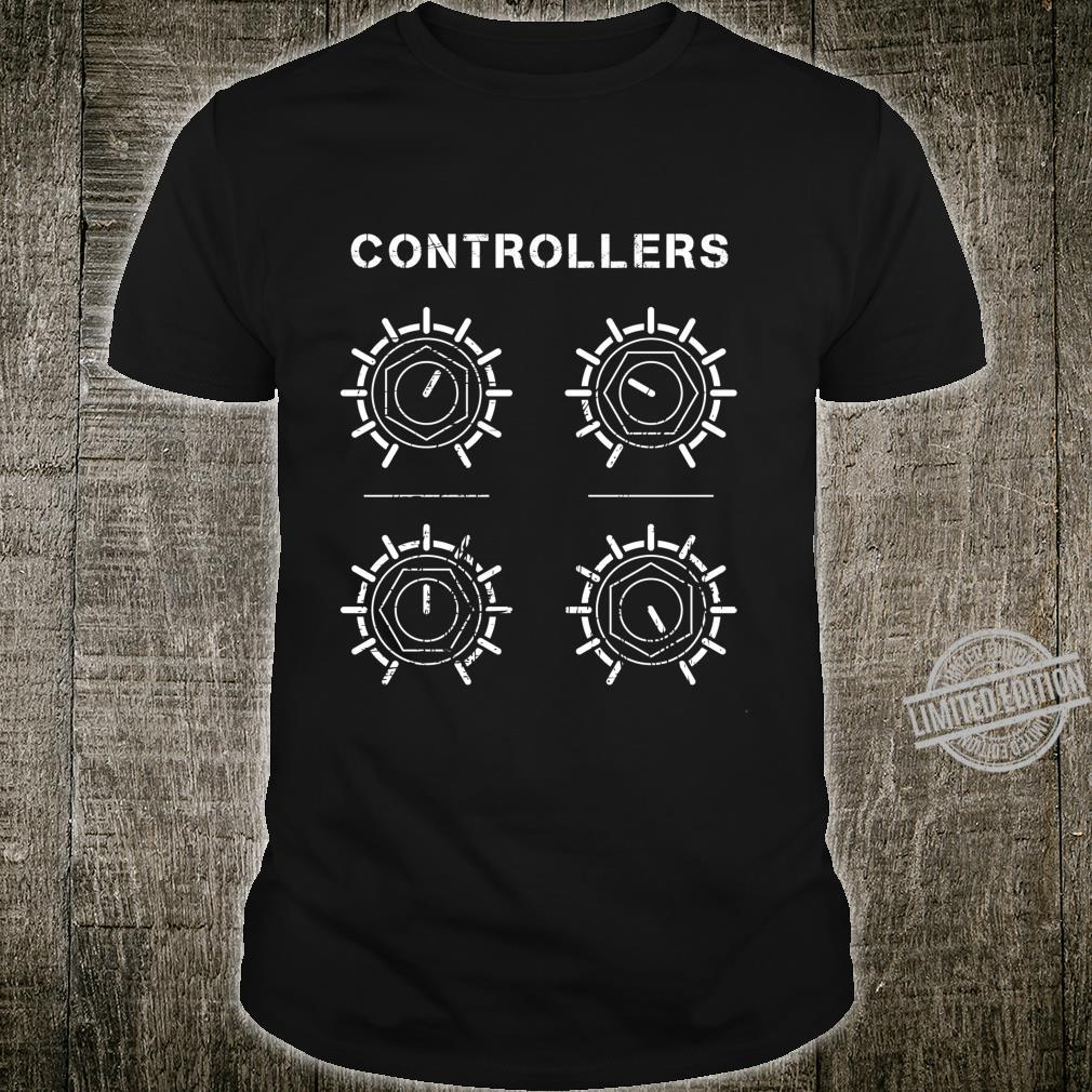 Synthesizer Controllers Modular Analog Synth Shirt