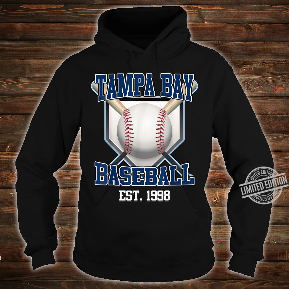 Tampa Bay Baseball Shirt Retro Vintage Baseball Design Shirt hoodie