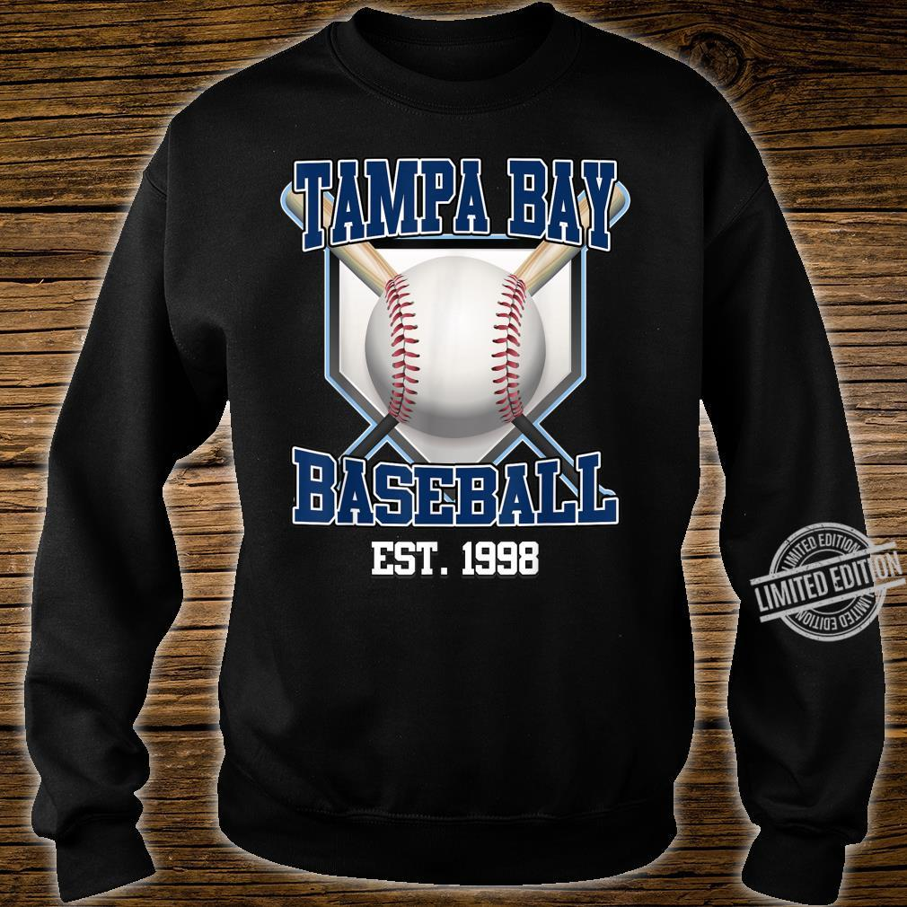 Tampa Bay Baseball Shirt Retro Vintage Baseball Design Shirt sweater