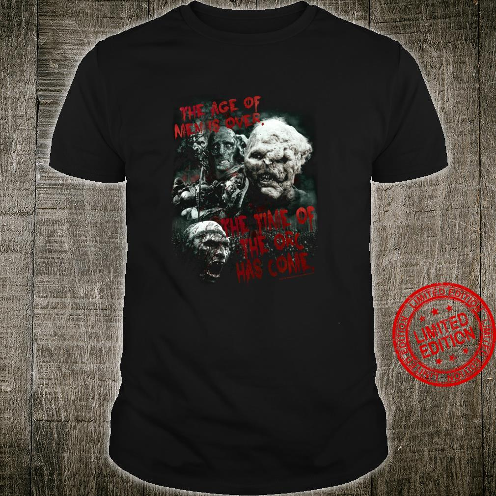 The Lord of the Rings Time of the Orc Shirt
