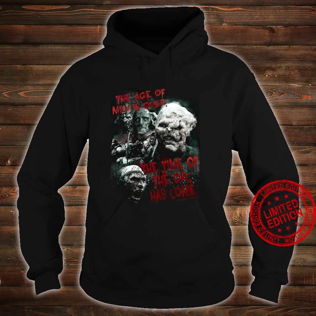 The Lord of the Rings Time of the Orc Shirt hoodie