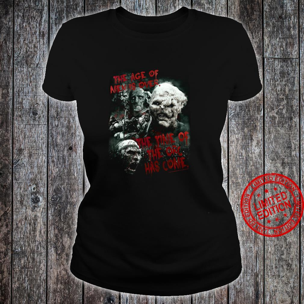 The Lord of the Rings Time of the Orc Shirt ladies tee