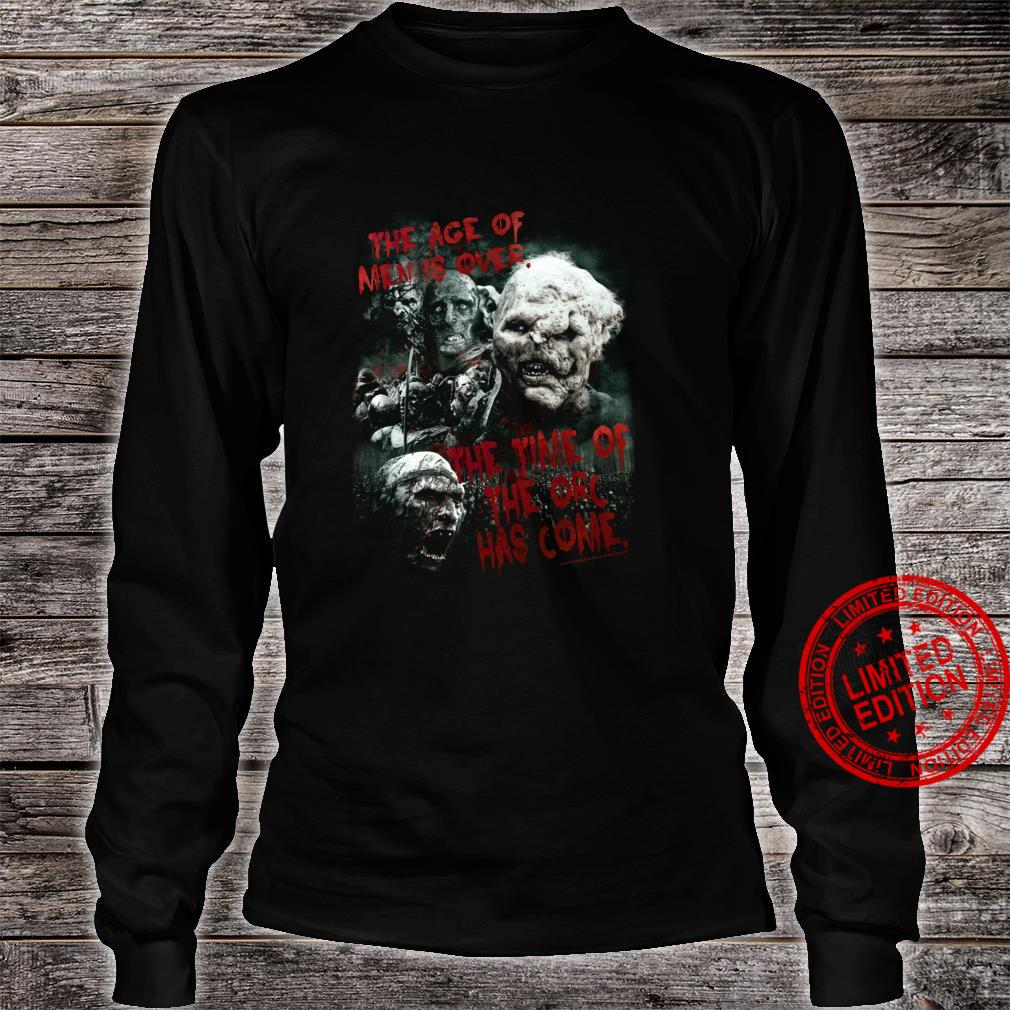The Lord of the Rings Time of the Orc Shirt long sleeved