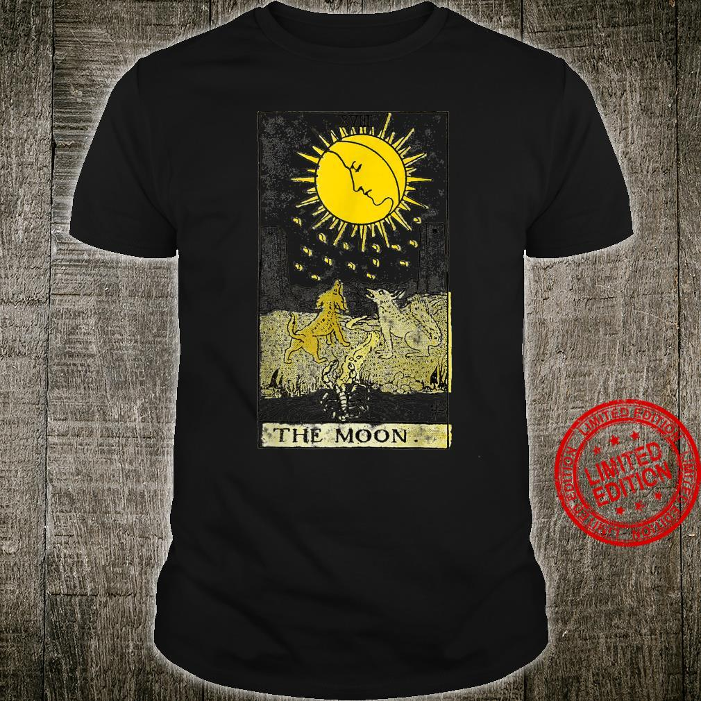 The Moon Tarot Card Vintage Shirt