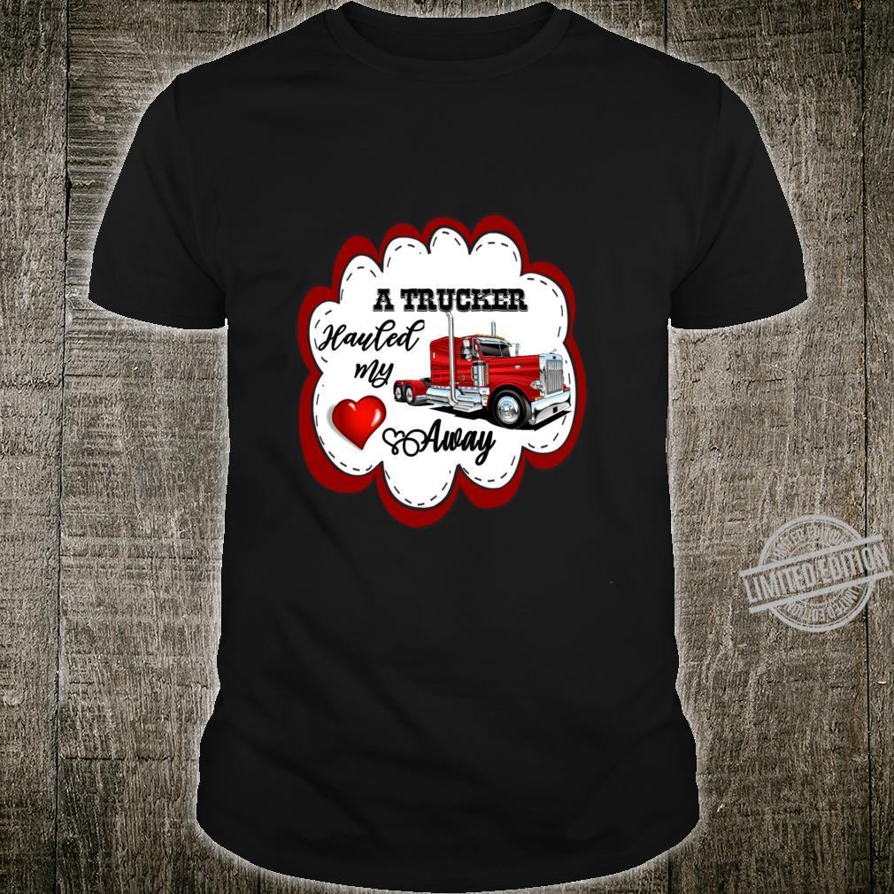 Truck Driver Trucking Trucker Wife or Girlfriend Cute Langarmshirt Shirt