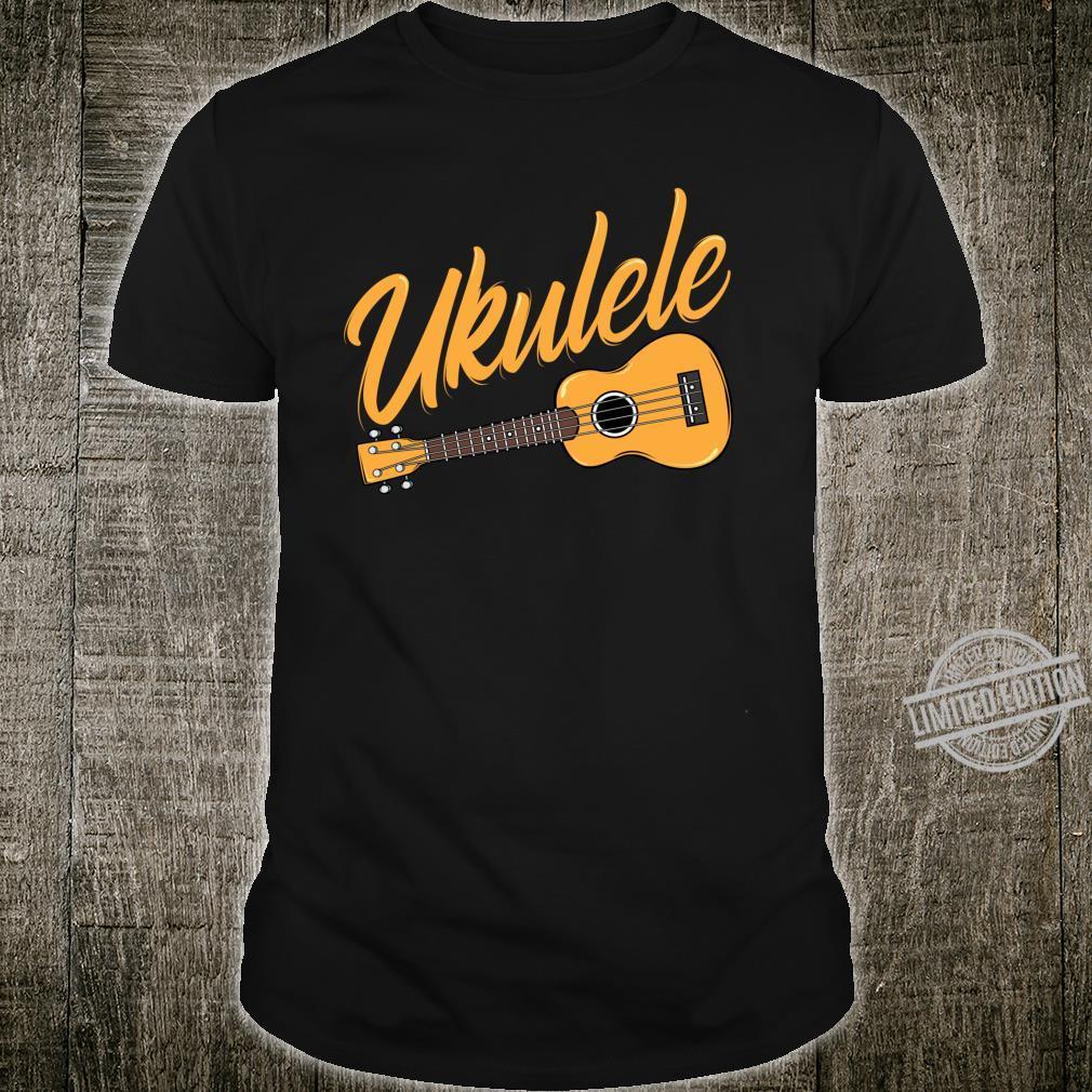 Ukulele Player Music Instrument Guitar Idea Shirt