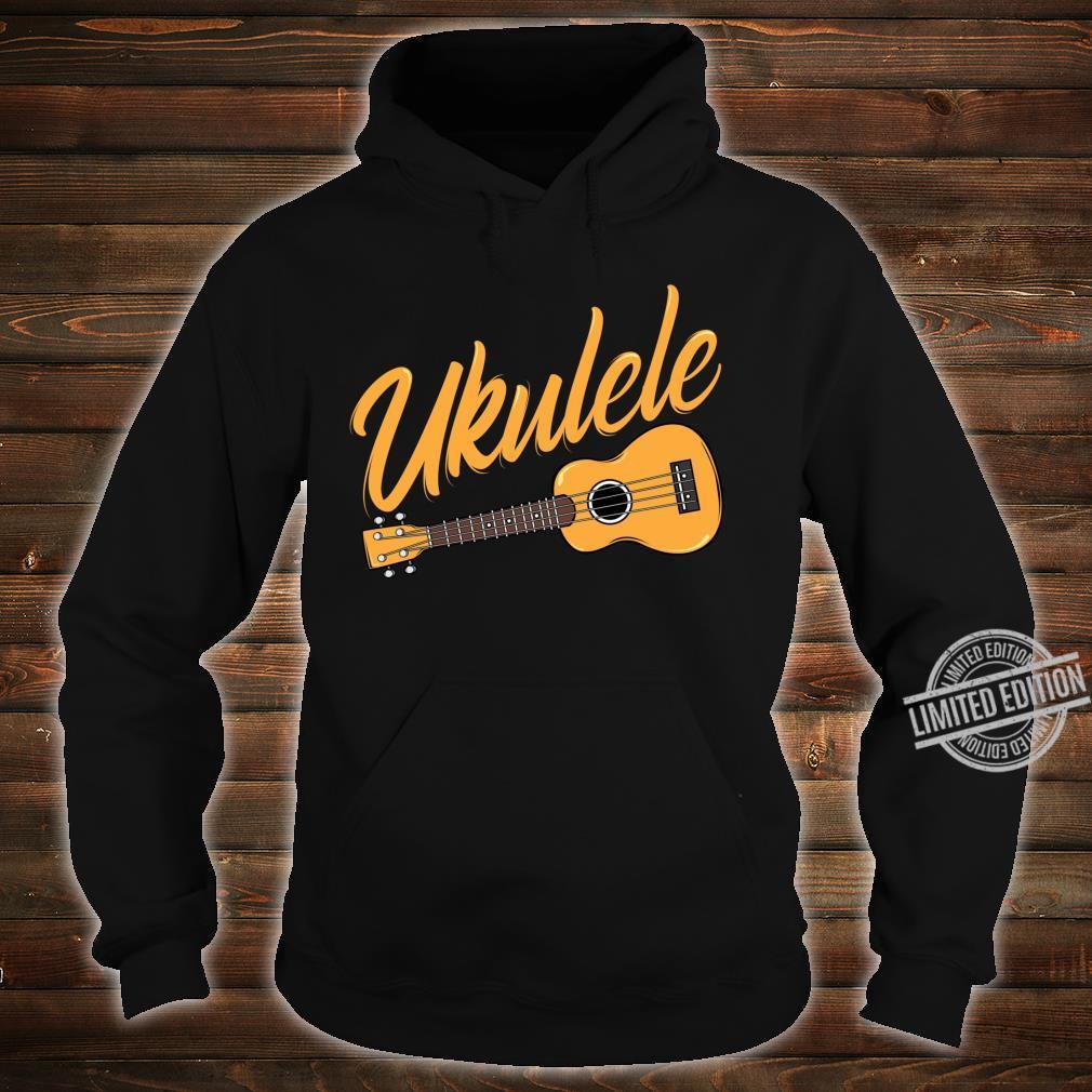 Ukulele Player Music Instrument Guitar Idea Shirt hoodie