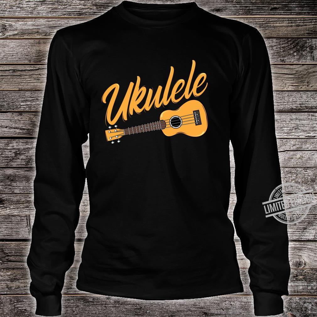 Ukulele Player Music Instrument Guitar Idea Shirt long sleeved
