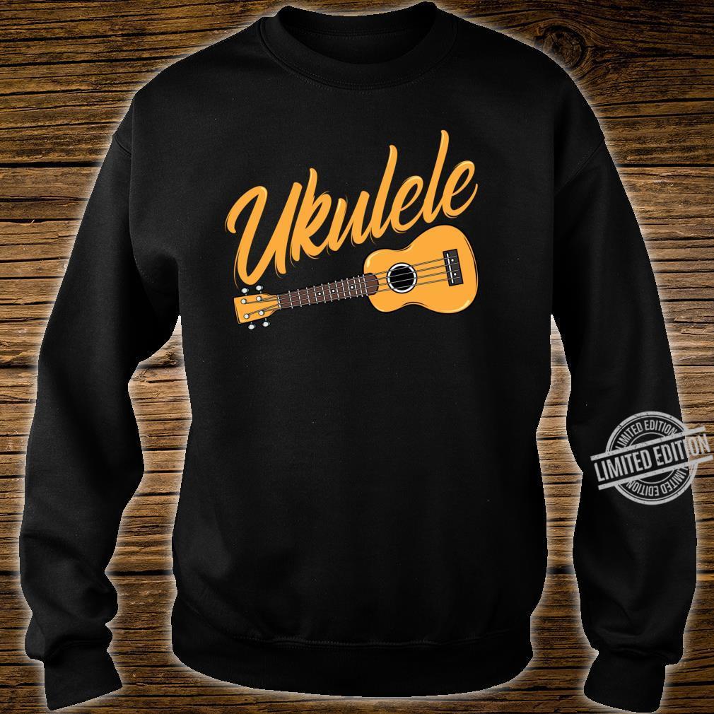 Ukulele Player Music Instrument Guitar Idea Shirt sweater