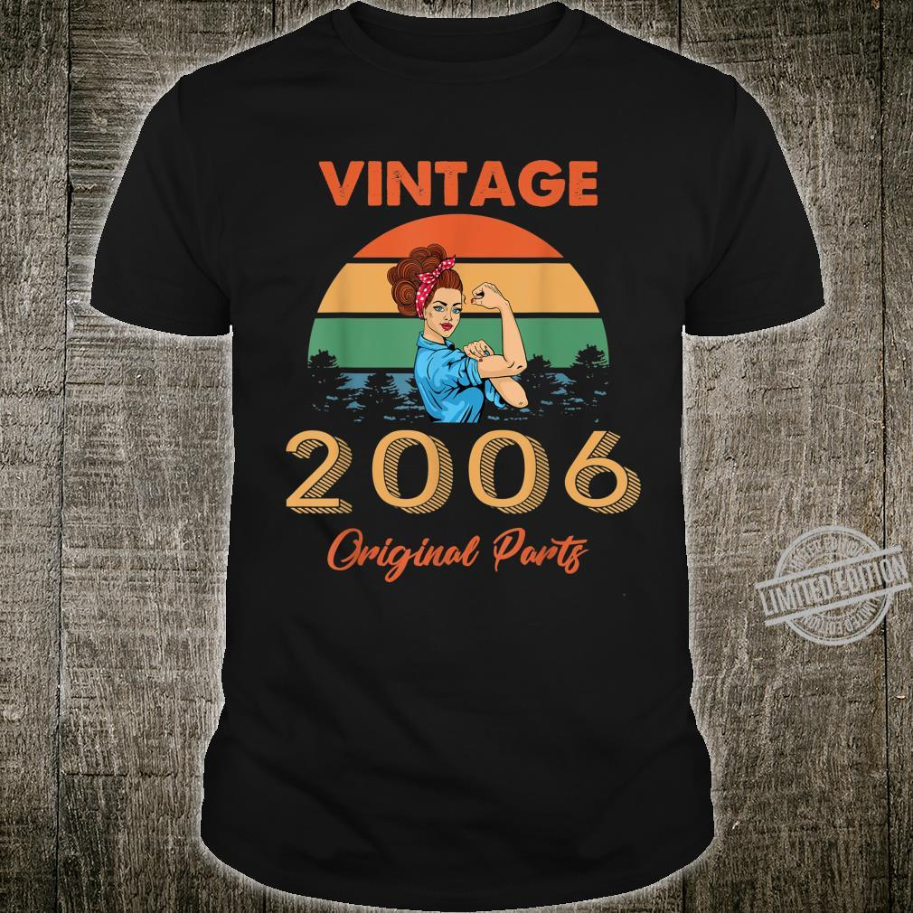 Vintage 2006 Made In 2006 14th Birthday 14 Years Old Shirt