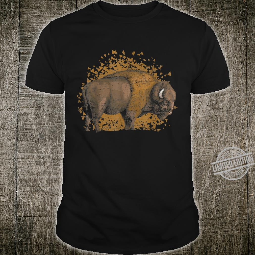Vintage Distressed Buffalo Shirt