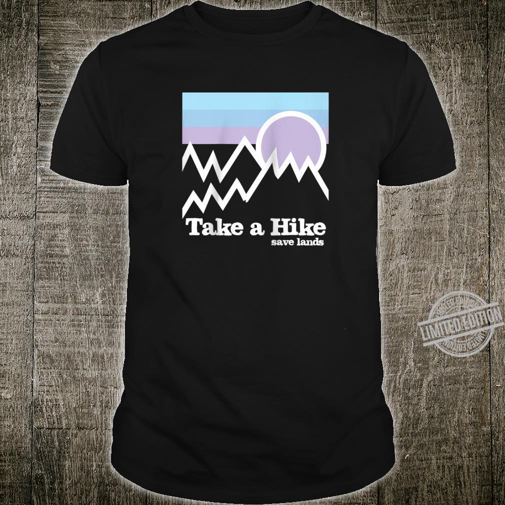 Wandern Save Lands Outdoor Mountains Wanderausrüstung Raglan Shirt