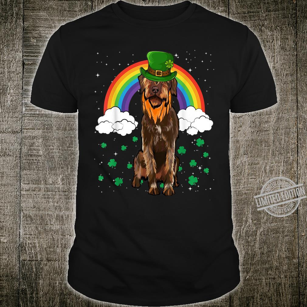 Wirehaired Pointing Griffon St Patricks Day Leprechaun Shirt