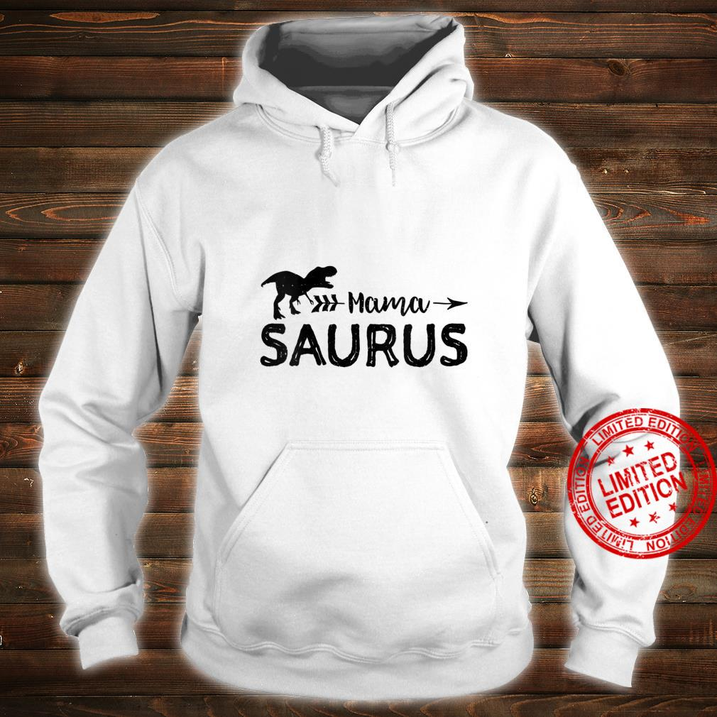 Womens Mama Saurus Dinosaur Shirt hoodie