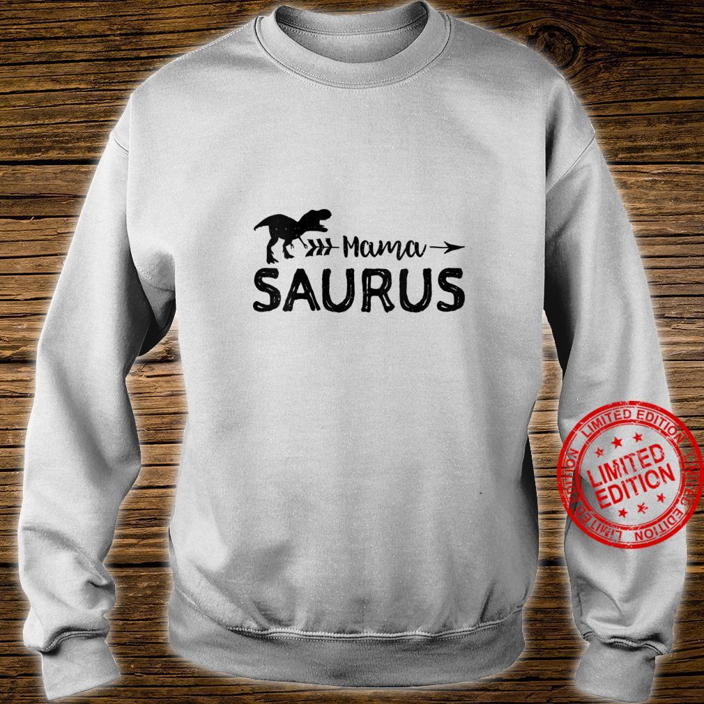 Womens Mama Saurus Dinosaur Shirt sweater